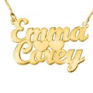 Name Chain Gold Plated