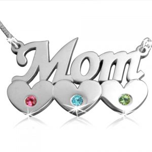 A Mother's Love, Silver Name Necklace