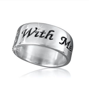 Silver Name Rings