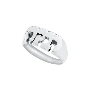 Hebrew Name Ring Sterling Silver -0